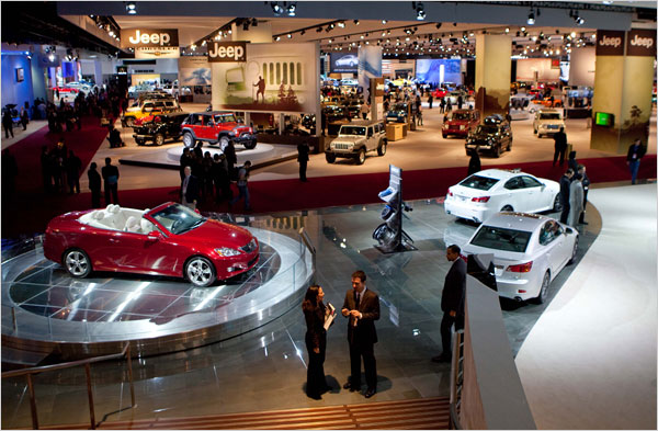 North American International Auto Show Metro Detroit Events